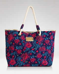 true blue jammin shoreline tote