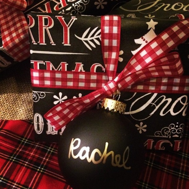 DIY: Christmas Ornament Tags