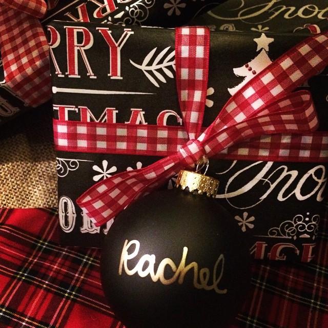 DIY: Christmas Ornament Tags
