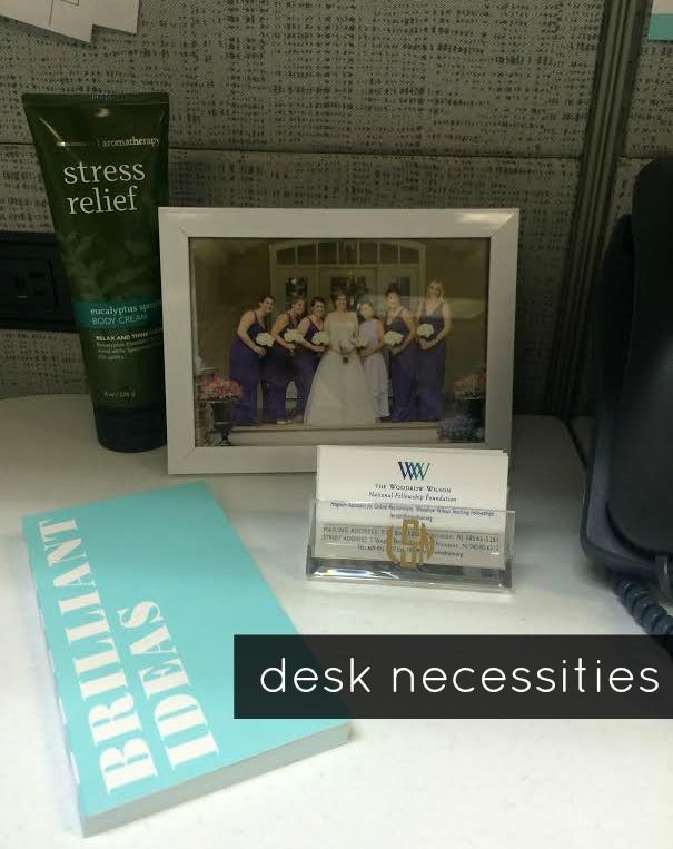 desk necessities