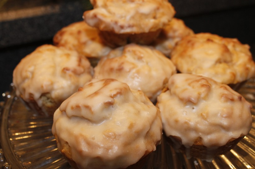 glazed donut muffin