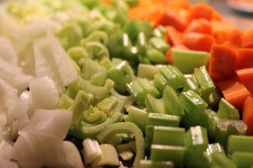 onion leek celery carrots
