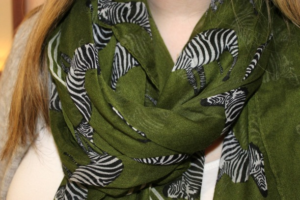 zebra scarf charming charlie