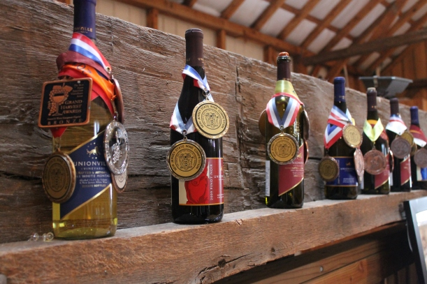 unionville winery | as GOLD as it gets
