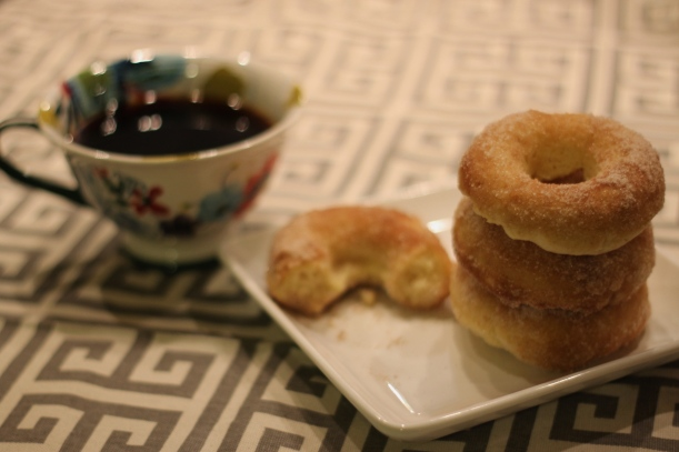 cinnamon sugar baked donuts | as GOLD as it gets
