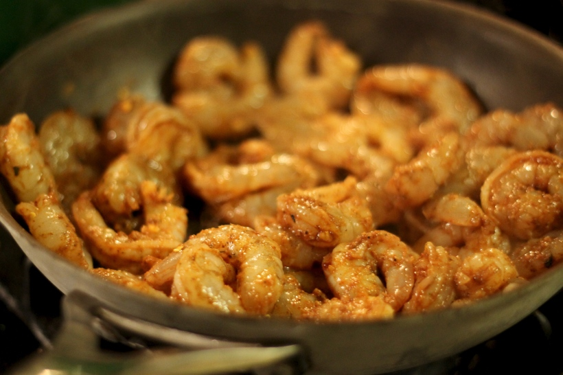 tex-mex quinoa shrimp tacos   as GOLD as it gets blog