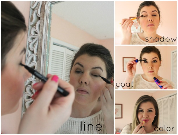 line shadow coat color | as GOLD as it gets - everyday makeup routine