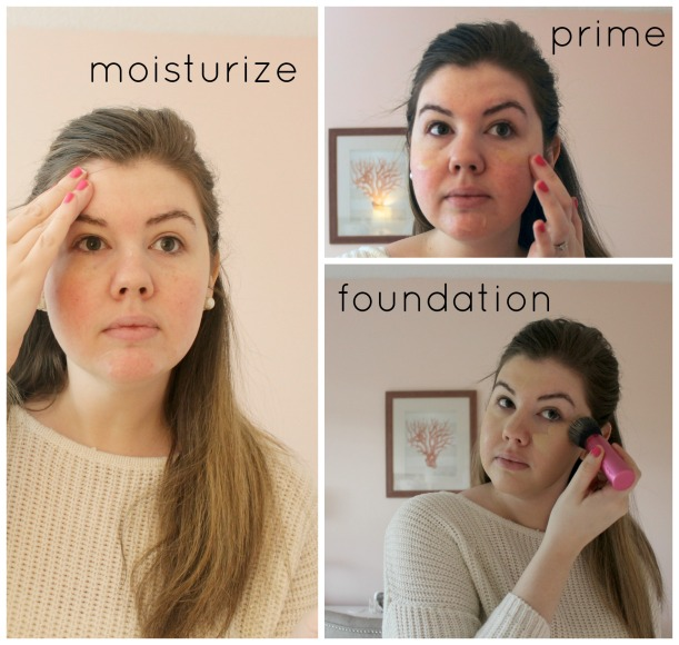 moisturize prime foundation | as GOLD as it gets everyday makeup routine