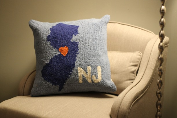 new jersey pillow | as GOLD as it gets blog