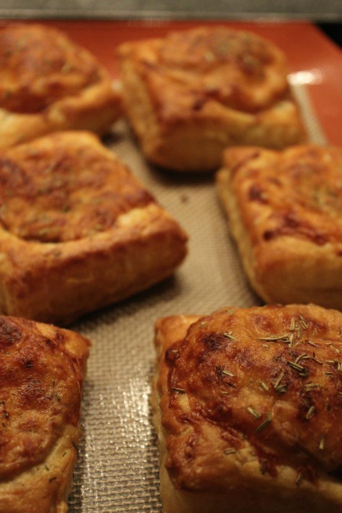 caramelized onion tartlettes