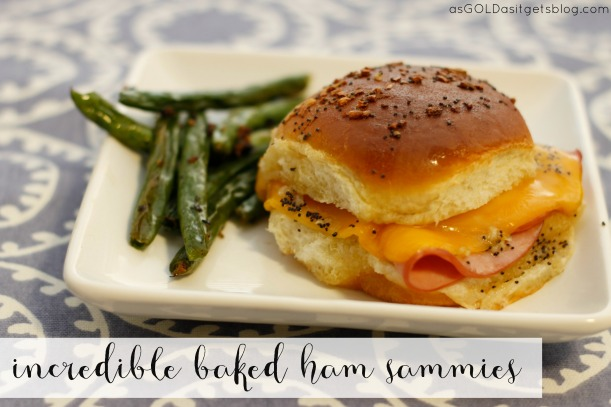 incredible baked ham sambas | as GOLD as it gets blog