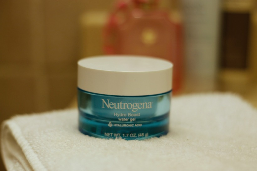 neutrogena hydro boost water gel |as GOLD as it gets blog