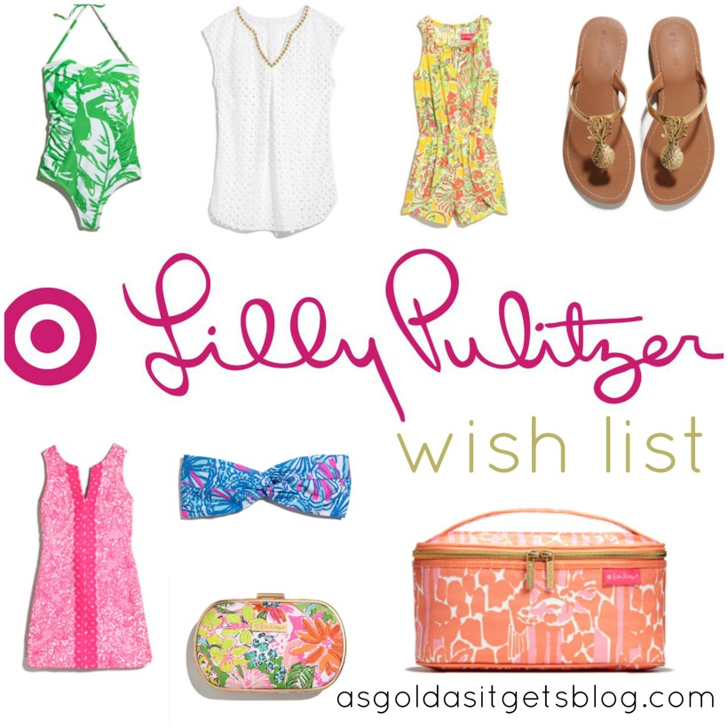 Lilly Pulitzer wish list