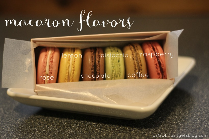 macaron flavors from laudree