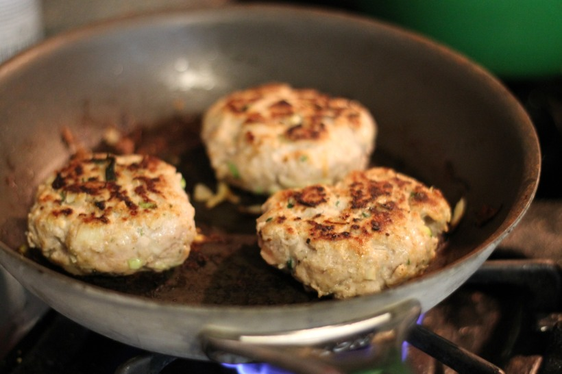 turkey burger | as GOLD as its blog