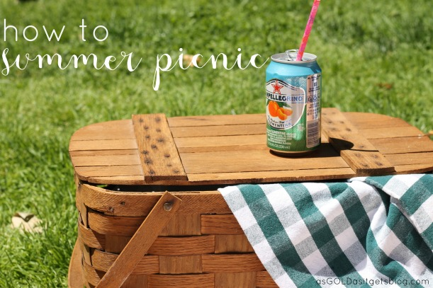 summer picnic | as GOLD as it gets blog