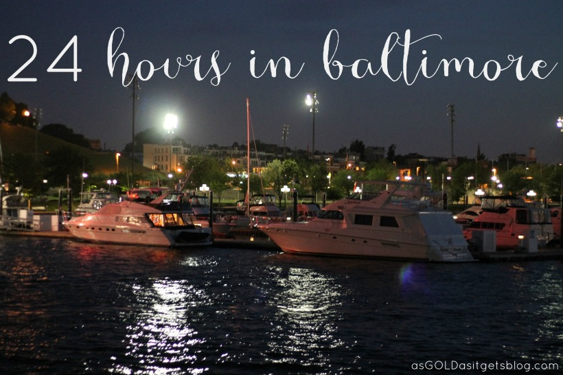 24 hours in baltimore