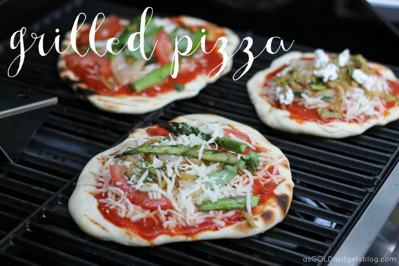 grilled pizza | as GOLD as it gets blog