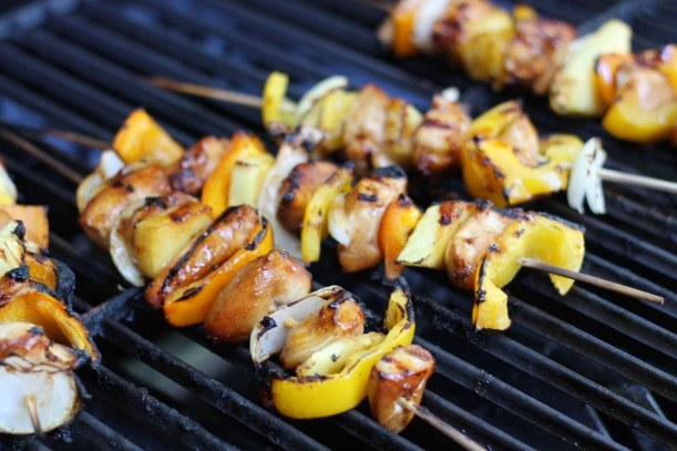 terikyaki chicken skewers | as GOLD as it gets blog