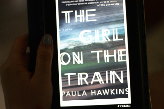 currently reading: the girl on the train