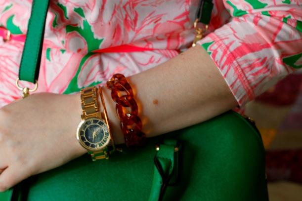 tortoise shell bracelet t+j designs