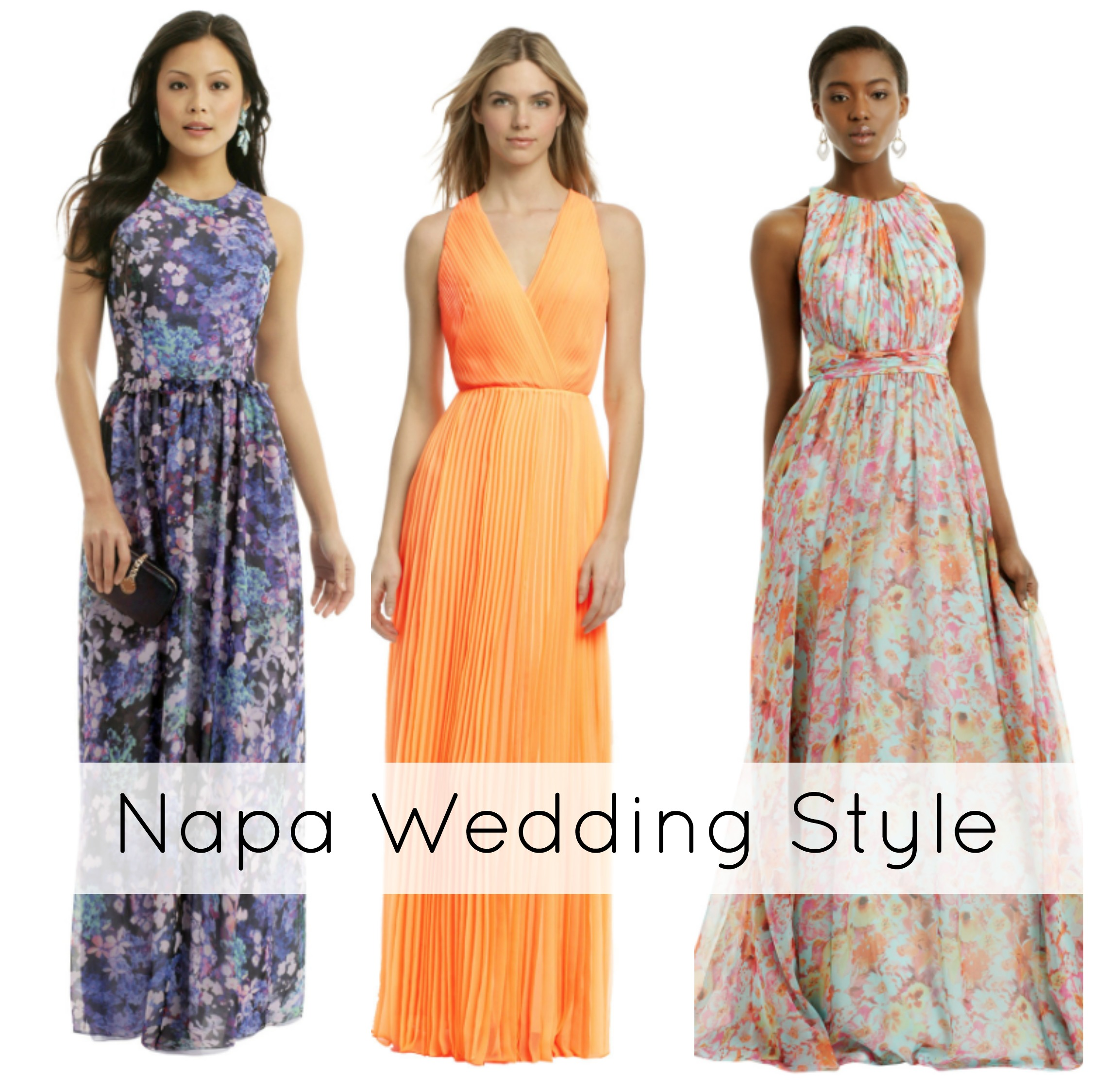 What To Wear To A Napa Wedding