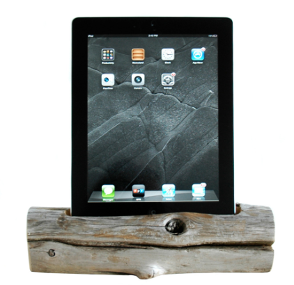 ipad driftwood charger