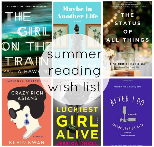 summer reading wish list | as GOLD as it gets blog