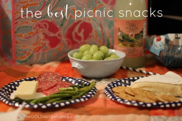 best picnic snacks