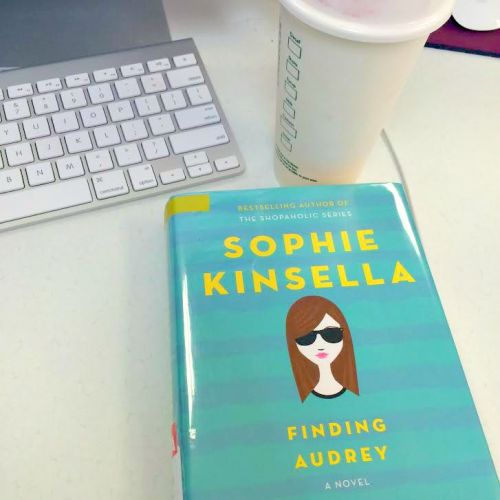 finding audrey, sophie kinsella, young adult fiction