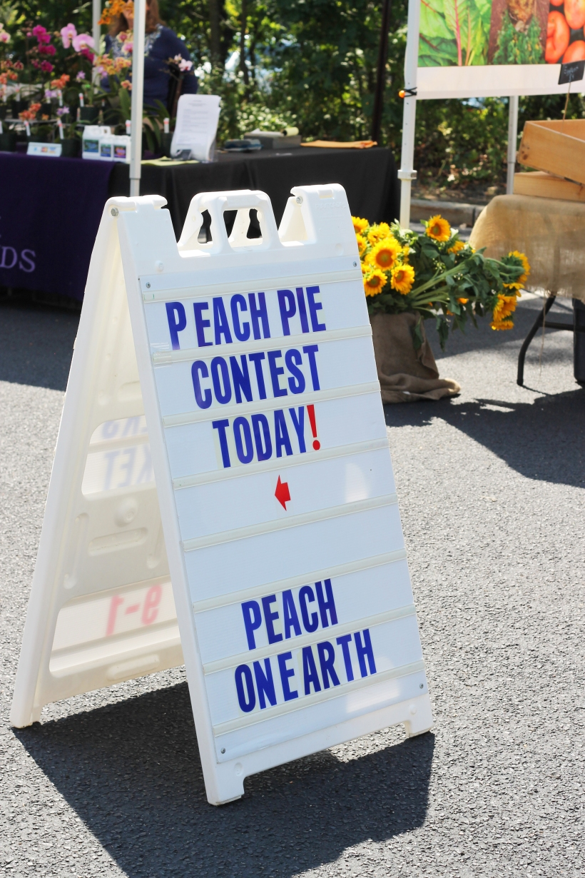 peach pie contest