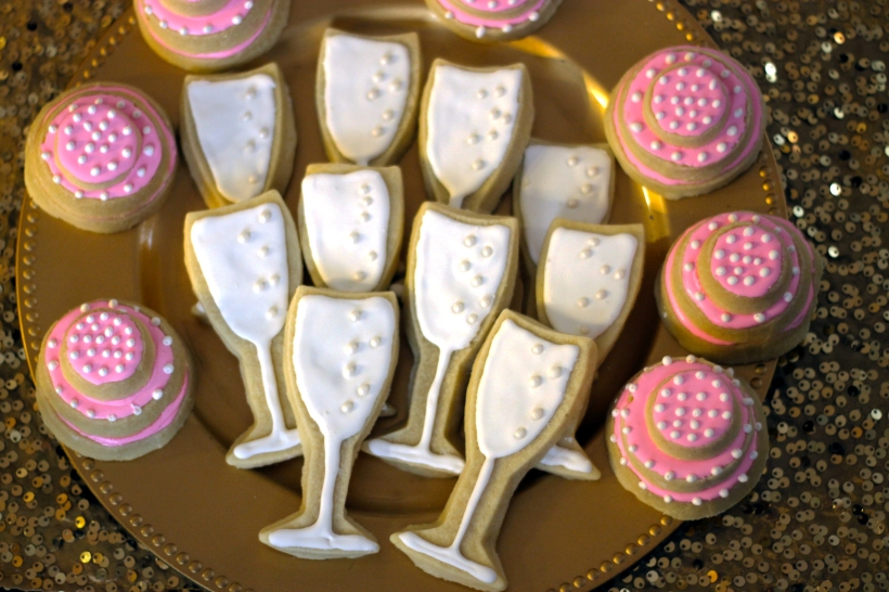 champagne bridal shower
