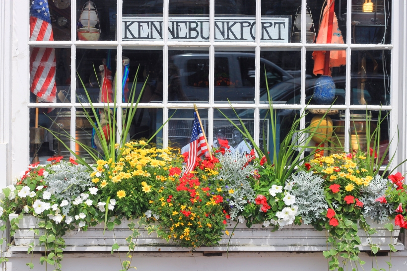 kennebunkport flower box