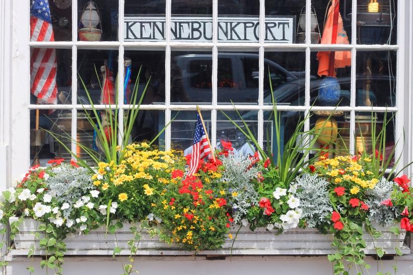 kennebunkport flower box