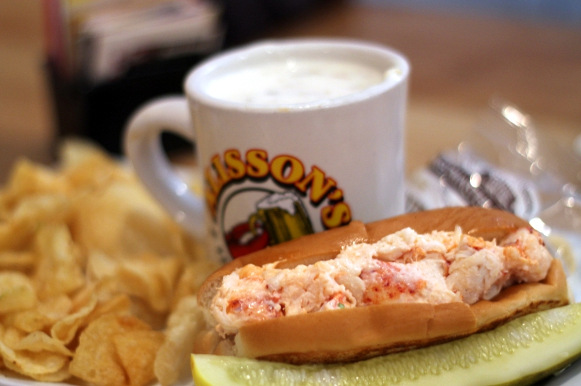 lobster roll and clam chowder allisons restaurant
